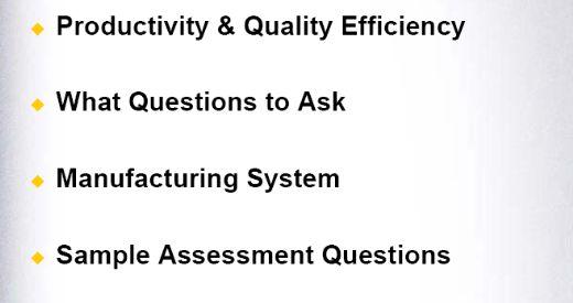 企业生产运作业绩评估指引(英文版)