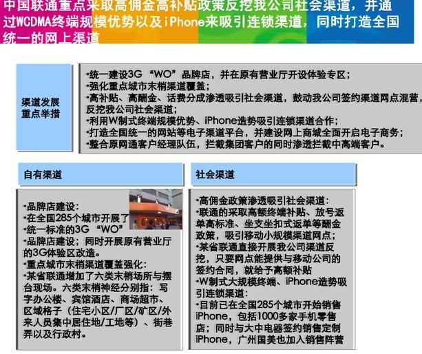国移动渠道管理工作思路 ppt 68页 通信营销管理