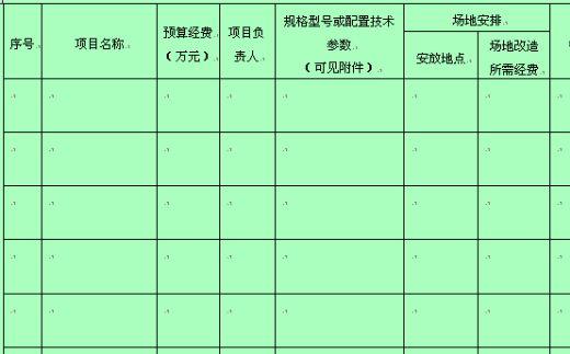 企业采购预算计划表 doc 1页 财务表格图片 24660 520x323