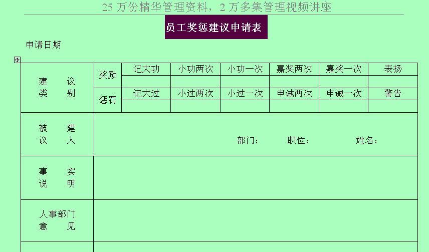 精品资料网 制度表格 表格模板 员工管理表格 >> 电子书信息