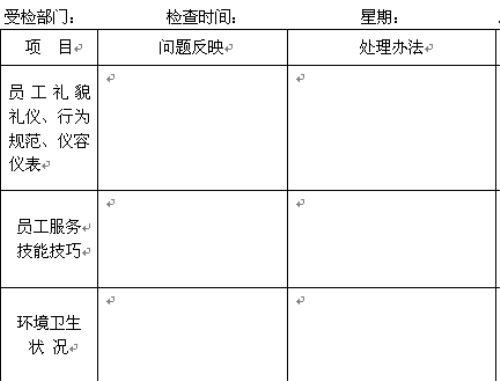 2011年精编酒店管理表格大全目录: 一,xxx酒店面试记录表 二,本市图片