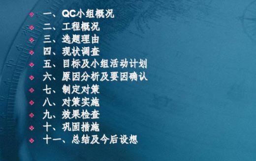 qc小组活动的作用与建设