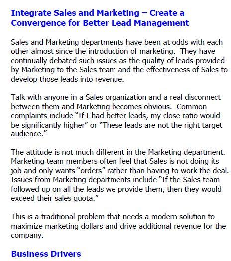 如何整合营销与营销(英文版)