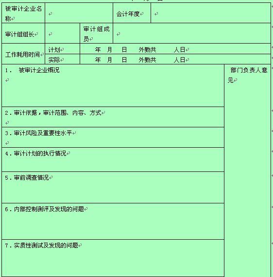财务审计工作小结(doc 2页)