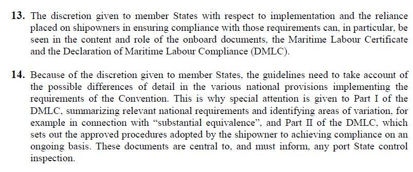 国际海事劳工公约PSC检查报告(英文版)