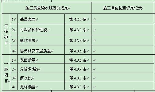 装配式结构施工检验批质量验收记录表