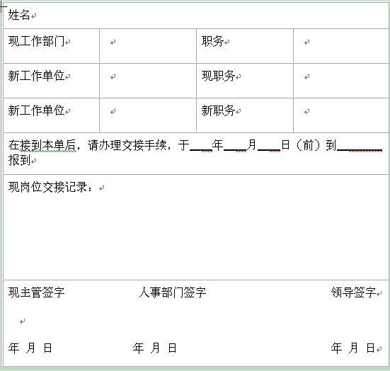 【人事调配工作总结】