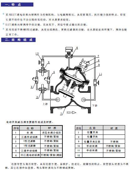AV-EL水力自控阀电动开关说明书