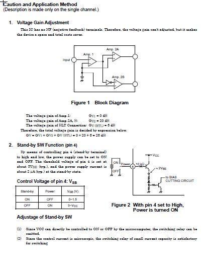 东芝ta8276hq功放音效芯片技术资料(英文版)(pdf 14页
