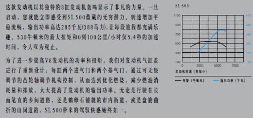 SL级跑车产品综合手册