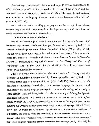 功能对等理论及其在广告翻译中的应用论文(英